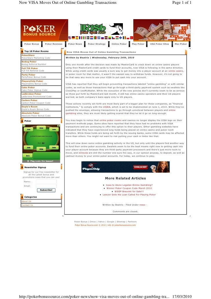 online casino payment processors