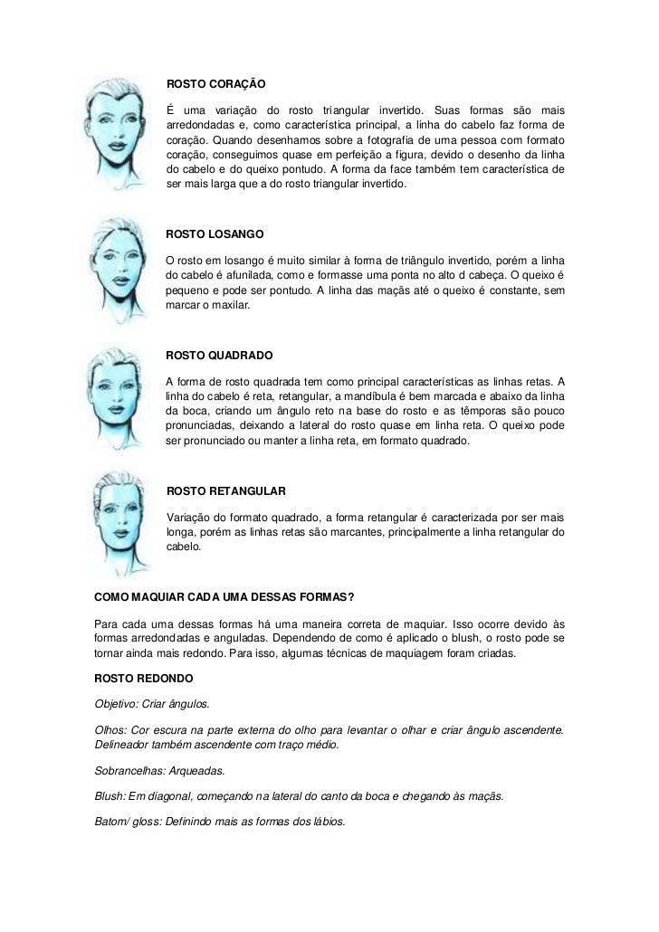 Visagismo E Maquiagem Slide 3