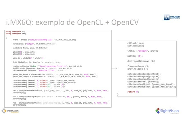i.MX6Q:exemplo deOpenCL+OpenCV