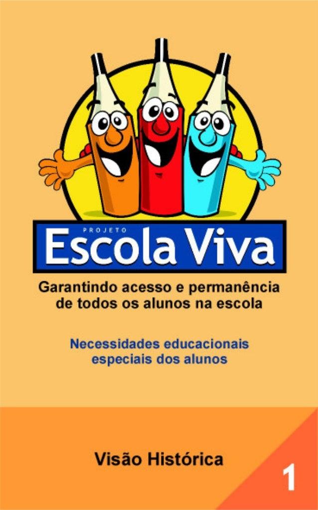 1 Visão histórica MINISTÉRIO DA EDUCAÇÃO SECRETARIA DE EDUCAÇÃO ESPECIAL Brasília 2005 Garantindo acesso e permanência de ...