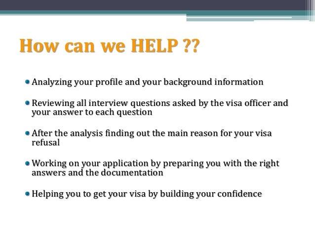 Visa Refusal or Rejected Visa Consultants - Revata ...