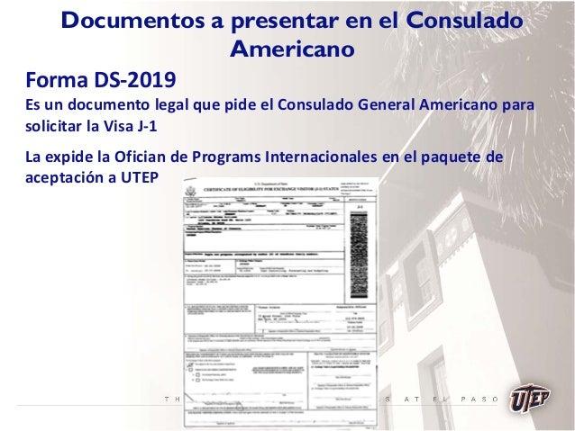 Visas for Que es un consul