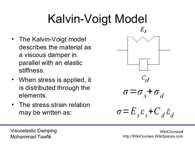 Viscoelastic Damping: Classical Models