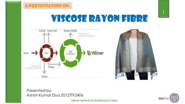 A PRESENTATION ON:                                                              1            VISCOSE RAYON FIBREPresented ...