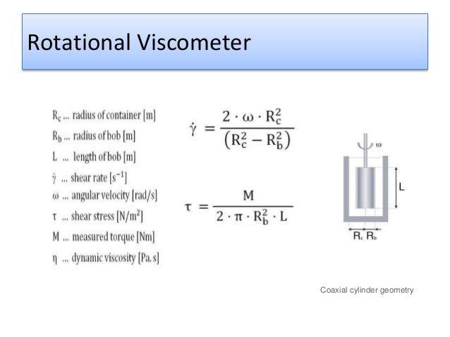Viscosity Measurements
