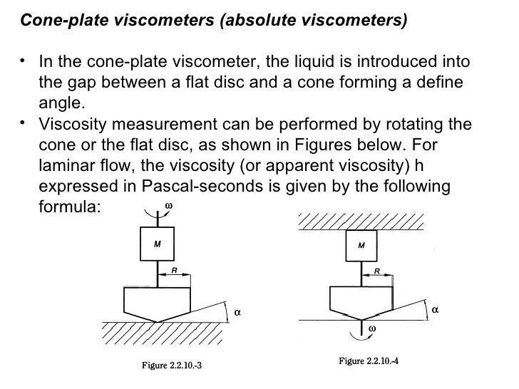 Viscosity and its determination