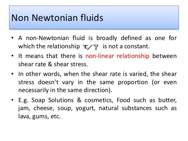 how to make your non-newtonian fluide