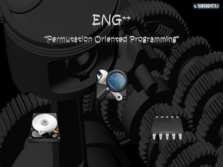 Agenda• 0000 – Once upon a time…   • 0100 – Advanced• 0001 – Introduction        • 0101 – Demonstration• 0010 – Brain at w...