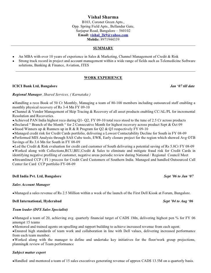 vishal sharma updated cv