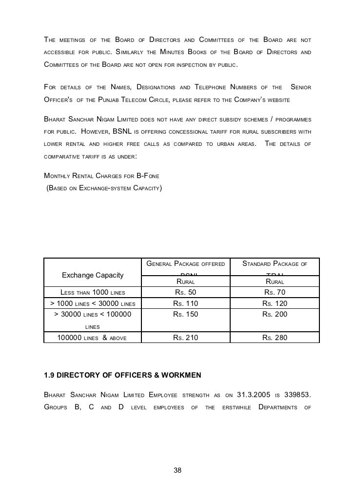 project on bsnl The project report on customer satisfection on bsnl is a usefull one peoples who are doing project on marketing of bsnl advertisements.