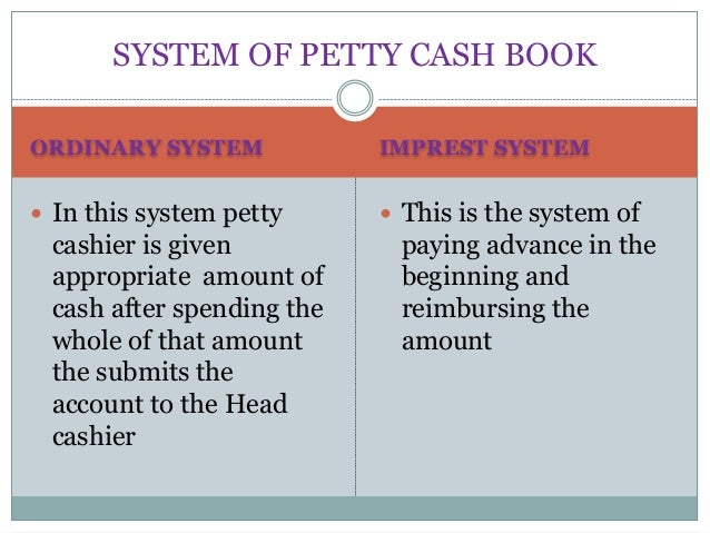 the petty cash system weaknesses and (a) audit procedures procurement and purchases system  how to overcome  weakness  (b) internal control weaknesses – petty cash 4.