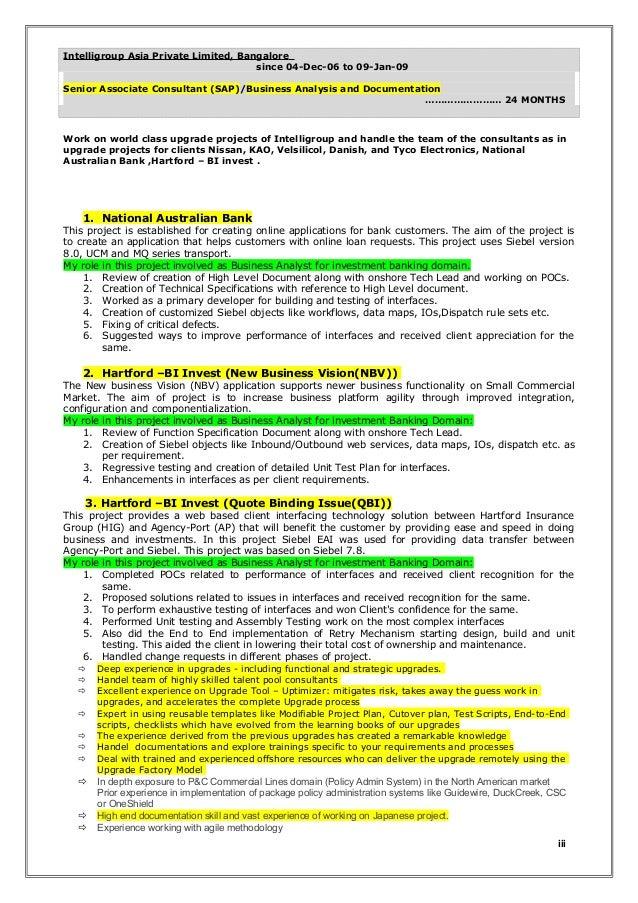 Data Governance Business Analyst Resume The Data Analyst Resume Resume  Template Essay Sample Free Essay Sample  Sap Business Analyst Resume