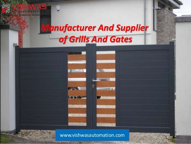 Grills And Gates Manufacturer And Supplier And Industrial Safety Doo