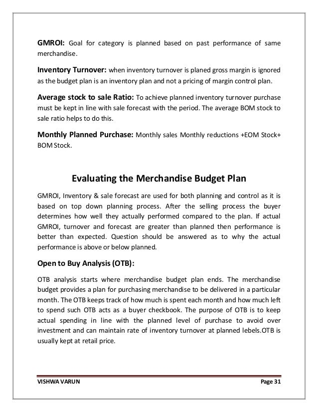 Essay about Performance Based Budgeting