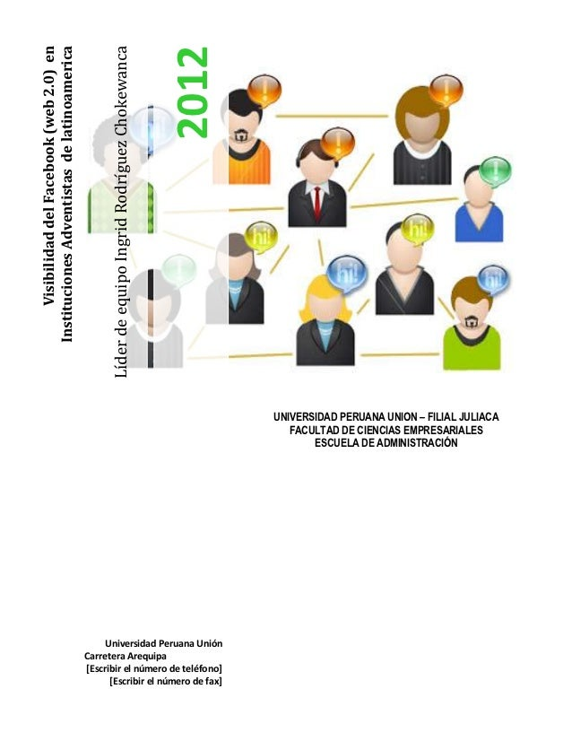 2012                                                    Líder de equipo Ingrid Rodríguez ChokewancaInstituciones Adventist...