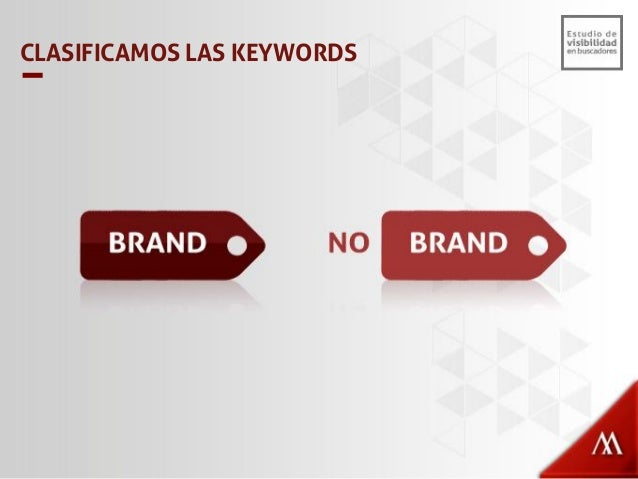Solo consideramos búsquedas Arriba de 100 por mes. Ej: Si keyword X = 90 búsquedas no se considera. Consideramos Todas las...