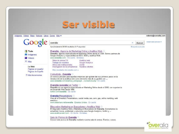 Visibilidad en la red   navarparty 8 (2010) Slide 2