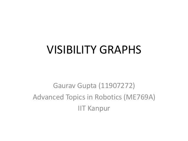 Visibility graphs Slide 1