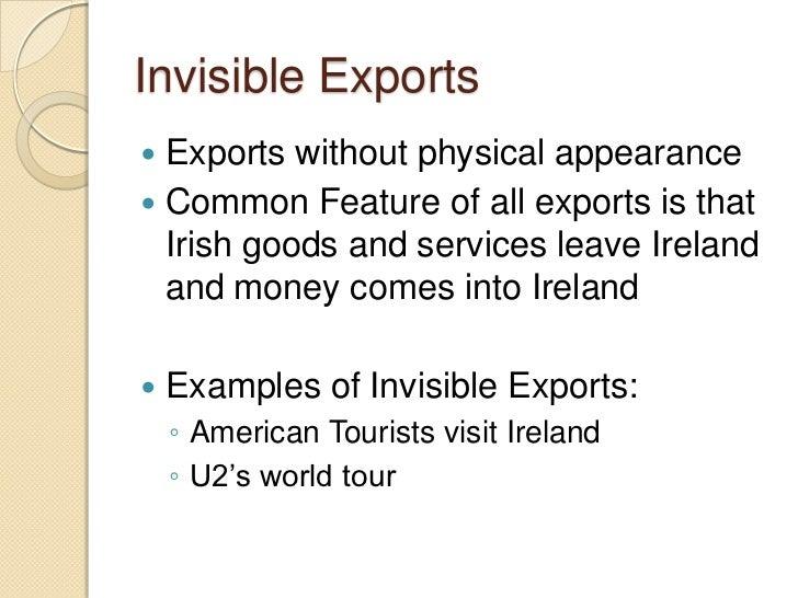 invisible trade