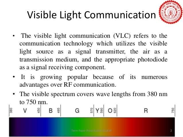 Visible light communication pdf
