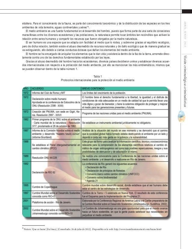 """15 ABRIL-JUNIO2015Visióncriminológica-criminalística de sus disposiciones son sorprendentemente uniformes""""12 , en México c..."""