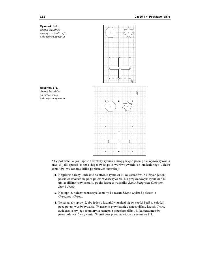 Visio 2002 dla kadego 132 cz i podstawy visio rysunek 88 grupa ksztatw wymaga aktualizacji pola wyrwnywania rysunek 89 grupa ksztatw po aktualizacji pola ccuart Choice Image