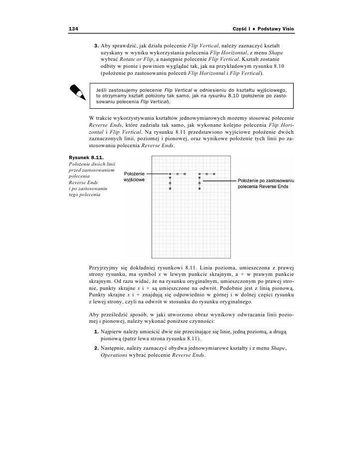 Visio 2002 dla kadego 134 cz i podstawy visio 3 aby sprawdzi jak dziaa polecenie flip vertical nale y zaznaczy ksztat uzyskany w wyniku wykorzystania polecenia flip ccuart Choice Image