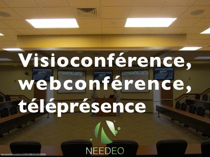 Visioconférence,                   webconférence,                   téléprésencehttp://www.flickr.com/photos/55685248@N06/5...
