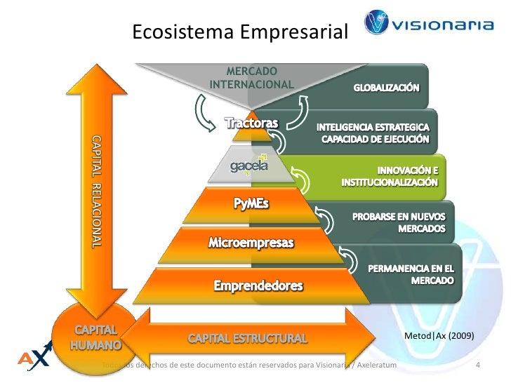 Ecosistema Empresarial<br />MERCADO INTERNACIONAL<br />GLOBALIZACIÓN<br />Tractoras<br />INTELIGENCIA ESTRATEGICA<br />CAP...