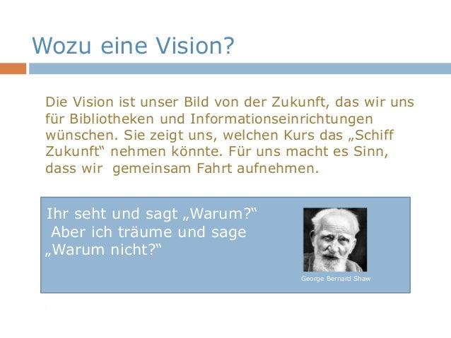 Vision für deutsche Bibliotheken und Informationseinrichtungen Slide 3