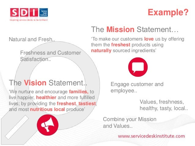 professional vision statement examples