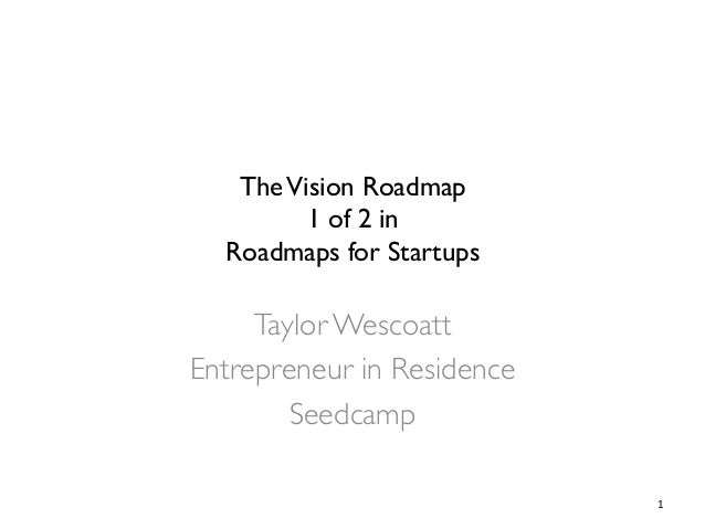 TheVision Roadmap