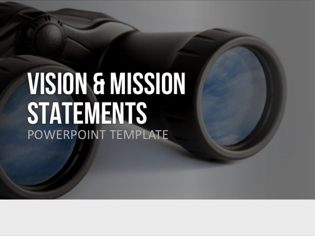 Vision mission statement english vision mission statementspowerpoint template definition while a mission statement toneelgroepblik Gallery