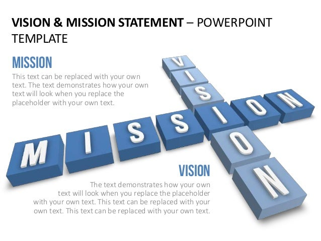 Vision mission statement english vision mission statement powerpoint template toneelgroepblik Choice Image