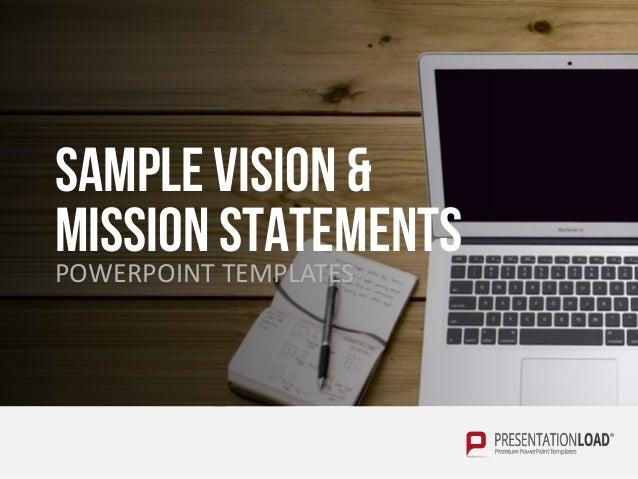 Vision mission statement english sample vision mission statementspowerpoint templates toneelgroepblik Choice Image