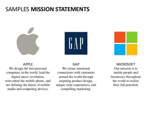 World's best mission statements