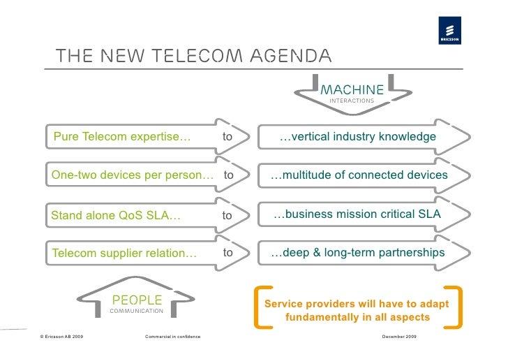 The new telecom agenda                                                                        Machine                     ...