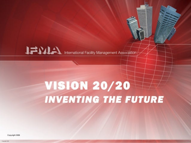 VISION 20/20 INVENTING THE FUTURE