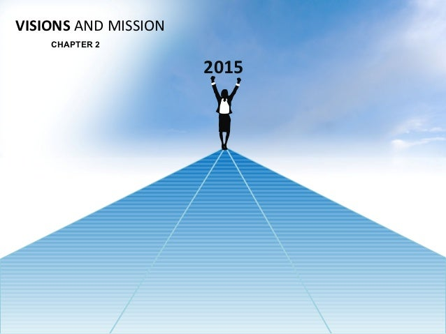 VISIONS AND MISSION    CHAPTER 2                      2015