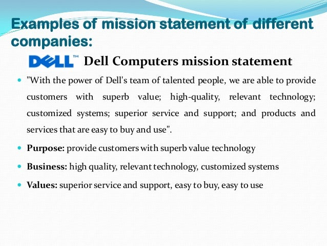 dell objectives and goals Dell seeks to profitably grow the desktop sets and relationships within each of our customer-centric business units with the goal of delivering best in.