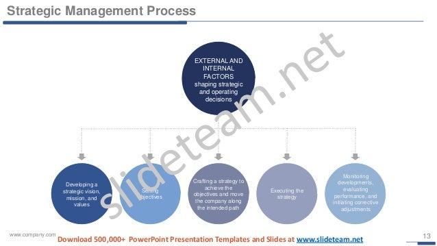 vision and mission strategic management powerpoint presentation templ…, Presentation templates