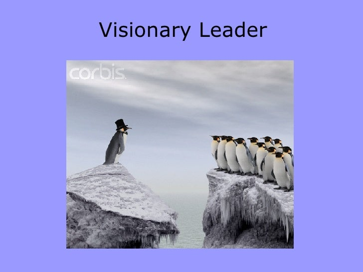 visionary leadership The visionary leadership style was first described by daniel goleman the visionary leader and followers move together towards a shared vision.