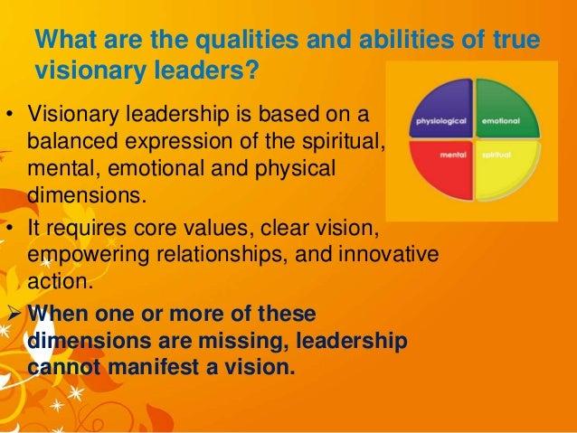 impact of visionary leadership