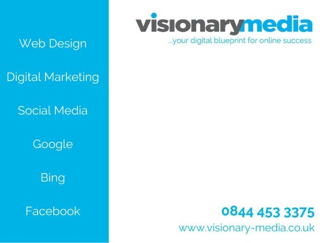 that's what we're passionate about – your vision, to be exact! Visionary Media is a digital marketing agency based in Bris...