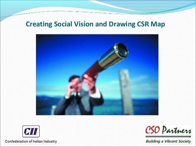 Creating Social Vision and Drawing CSR Map