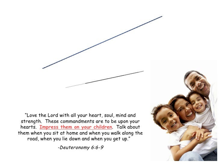 """FAMILY MINISTRY """"Building Faith @ Home"""" """" Love the Lord with all your heart, soul, mind and strength.  These com..."""