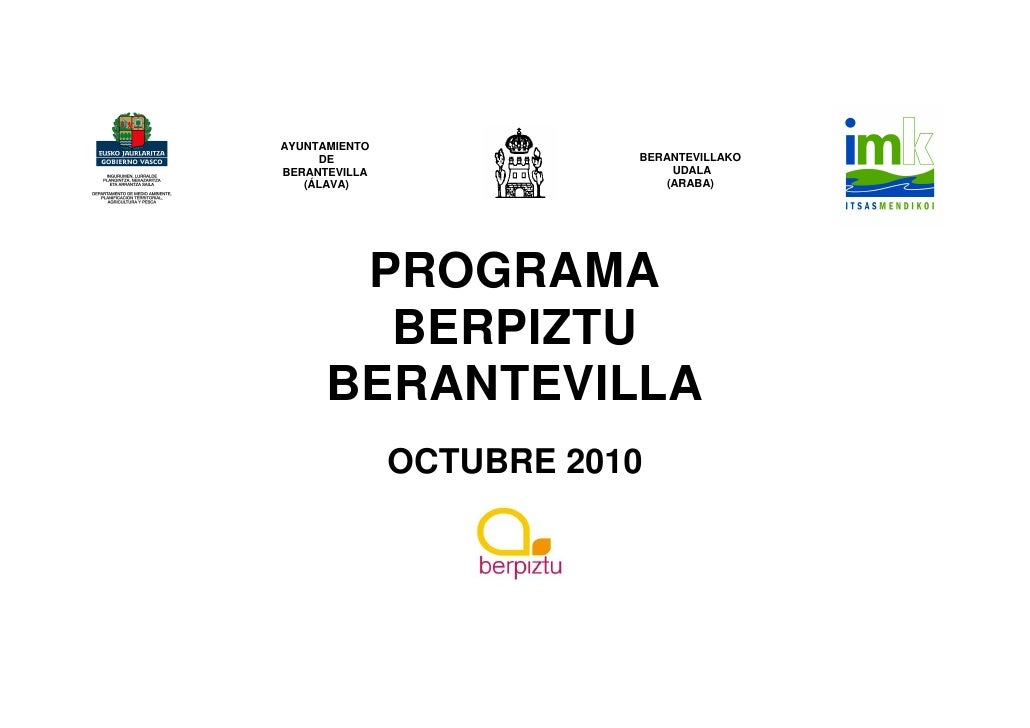 AYUNTAMIENTO     DE                   BERANTEVILLAKOBERANTEVILLA                   UDALA   (ÁLAVA)                    (ARA...