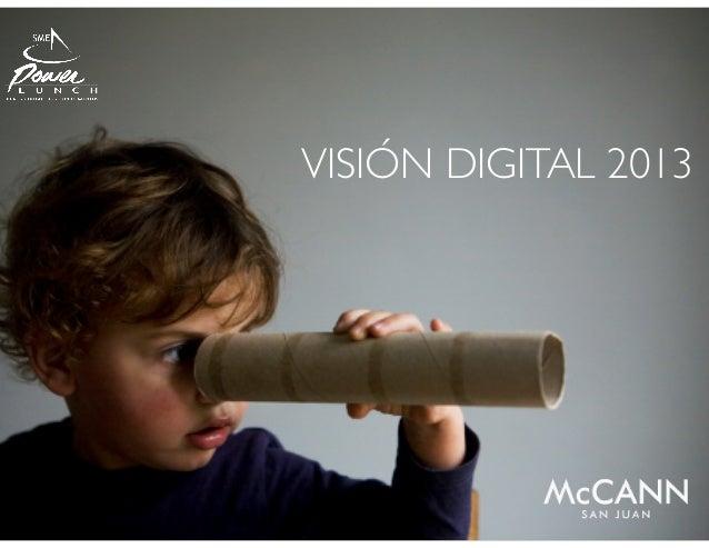 VISIÓN DIGITAL 2013