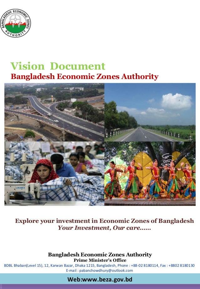 Bangladesh Economic Zones Authority Prime Minister's Office BDBL Bhaban(Level 15), 12, Karwan Bazar, Dhaka 1215, Banglades...