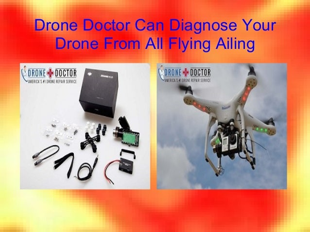 Drone Doctor Can Diagnose Your Drone From All Flying Ailing